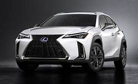 Funky Lexus UX Crossover Debuts With New Hybrid Model