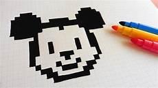 mickey pixel handmade pixel how to draw mickey mouse pixelart