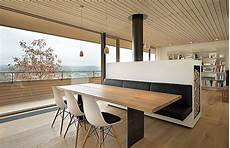 Stunning Mountain Views And A Wood Clad Interior Shape