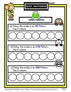abc patterns worksheets 24 patterns create letter patterns ab aab abb abc kindergarten to gr 1 1st gr