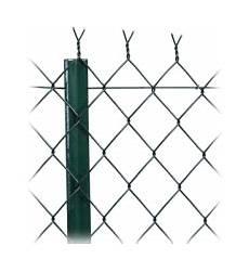 rouleau de grillage vert en simple torsion maille 50x50