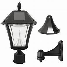 gama sonic black solar led outdoor wall light gama sonic baytown ii outdoor black resin solar wall light with warm white led 105033 5