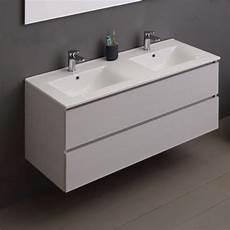 mobile bagno 2 lavabi mobile per bagno con lavabo doppia vasca 120 cm grigio