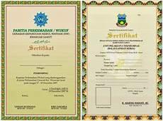 desain sertifikat keren desain piagam coreldraw