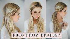 tutorial front row braid youtube
