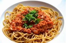 Pasta Mit Tomaten Thunfischso 223 E Mit Pfeffer Liebe