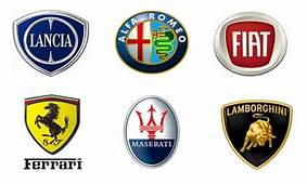 Italian Car Brands Names  List And Logos Of Cars