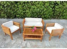 salon de jardin en bois pas cher mobilier de jardin en bois pas cher