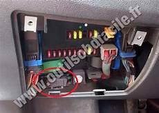 Einbauort Den Obd2 Stecker In Peugeot Boxer 2006