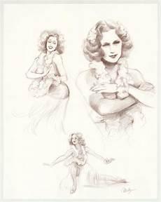 illustration originale intitul 233 e quot eleanor powell sketches