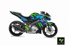 Striping Vixion Modifikasi by Jual Modifikasi Striping Yamaha New Vixion Advance Shark