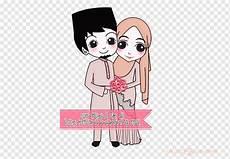 Gambar Kartun Pernikahan Muslimah Ke 17 Mediagambar