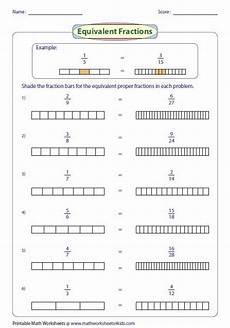 fraction bar worksheets 3856 represent equivalent fraction using fraction bar frazioni istruzione matematica e filastrocche