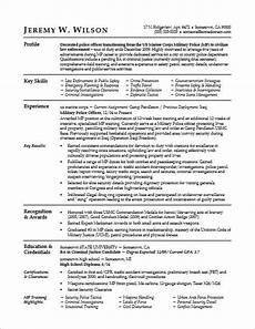 this sle resume shows how you can translate your military skills for a civilian job life