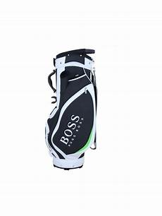 hugo green girtir pro golf bag in black northern