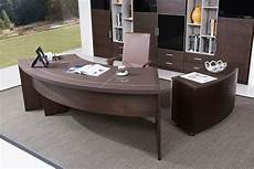 modern desk furniture home office modrest highland modern brown oak office desk w cabinet
