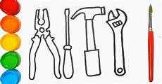 glitter repair tools coloring pages baby repair