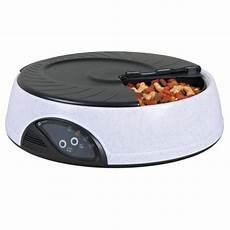 distributeur automatique de nourriture distributeur automatique de nourriture 4 repas accessoire repas pour chien et chat trixie