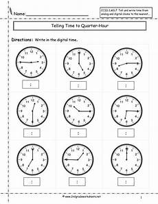 telling time worksheets quarter and half hour 2921 telling and writing time worksheets