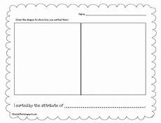 sorting objects by attributes worksheets 7746 finally in geometry freebie and reviews
