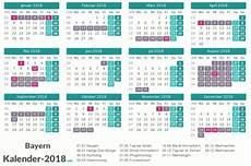 Ferien Bayern 2018 Ferienkalender 220 Bersicht