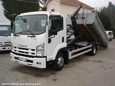 camion ptac gt 3 5t benne amovible 192 bras isuzu f series