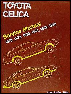 car repair manuals download 1982 toyota celica electronic toll collection 1978 1983 toyota celica bentley repair shop manual