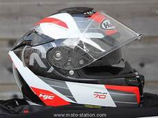 test casque hjc rpha 70 un touring tr 232 s sport route