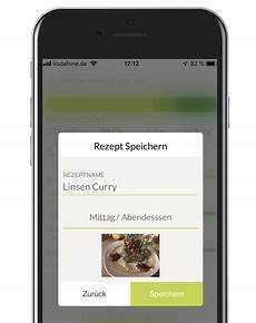 mobile app rezeptrechner