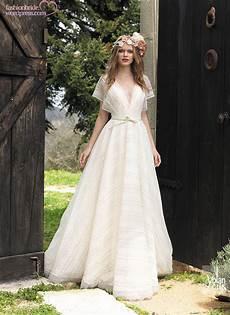 Brautkleid Boho Style - bohemian wedding dresses the fashionbrides
