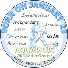 January 23 Zodiac Horoscope Birthday Personality