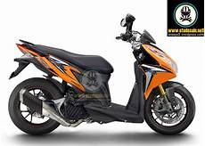 Modifikasi Motor Vario Techno by Unekunek Referensi Modif Honda Vario Techno 125