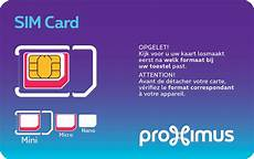 ma carte sim est trop grande choose or exchange a sim card proximus