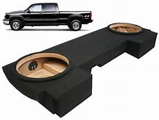 seat connectivity box 2001 2007 chevy silverado 1500hd crew cab truck dual 12 quot underseat subwoofer box ebay