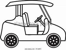 Golf Cart Cartoon Drawing At GetDrawingscom  Free For