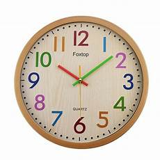 12 quot children silent wall clocks for room