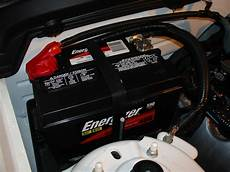 Ford Mustang Battery Replacement