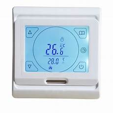 Minco Heat Programmable Smart Thermostat Digital minco heat lcd programmable digital room floor heating