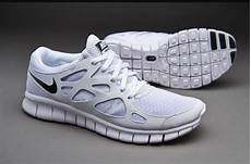 mens shoes nike sportswear free run 2 nsw white black