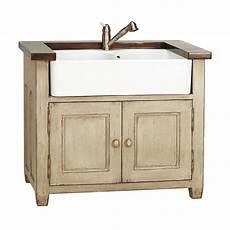 meuble pour evier 201 vier 2 bacs pour meuble but1 beige interior s