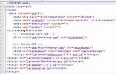 fizzyfit homepage code analysis o connell creative multimedia programming