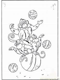 monkey on b2072 coloring page free monkey coloring