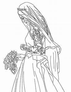 topmodel 8 ausmalen coloring 2 vestido de novia de