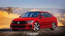 2019 vw jetta shows its sporty side in gli and r renders