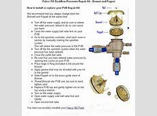 Febco 765 1 Repair Kit Febco 765 Repair Kit Parts