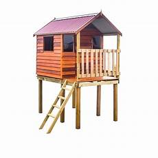 elevated cubby house plans kids cubby house 1 815 bunnings cedar shed kids cubby