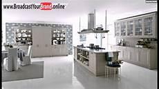 tapeten küche ideen vintage k 252 che design idee blaue tapeten blumenmuster