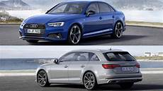 Audi A4 2019 - 2019 audi a4 saloon avant unveiled in europe with