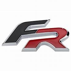 seat fr formula racing schriftzug logo emblem rot schwarz