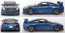 Nissan Gtr Fast And Furious - nissan gtr r35 1 18 blue rapido furioso 7 fast